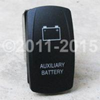 ROCKER, AUX BATTERY