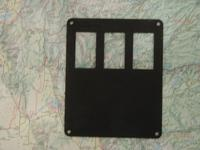 SWITCH PANEL INSERT, 3-SWITCH