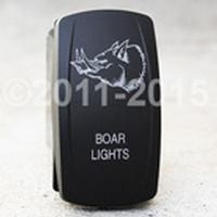 ROCKER, BOAR LIGHTS