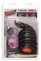 BOLT 6' CABLE LOCK, GM A