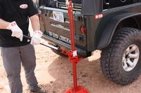 HI-LIFT JACK, 48 ALL-CAST  RED