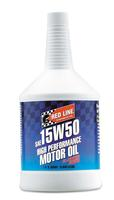 REDLINE 15W50 ENGINE OIL, QUART