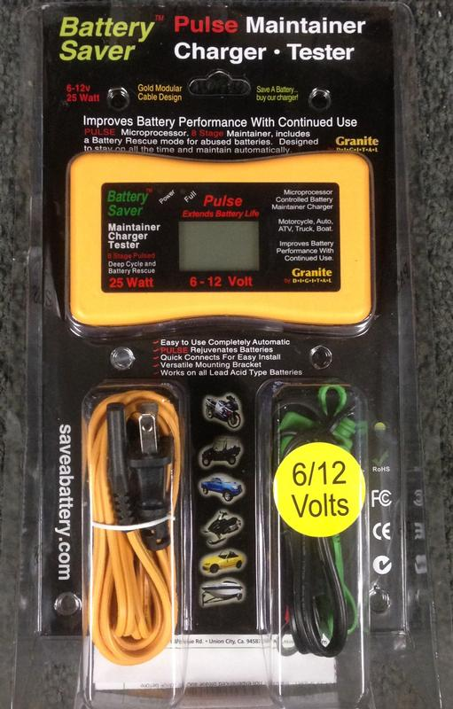 Save A Battery 3015 12 Volt//25 Watt Battery Saver//Maintainer and Battery Rescue